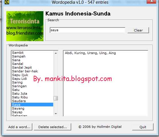 kamus bahasa arab indonesia software